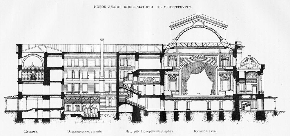 эскиз постройки: